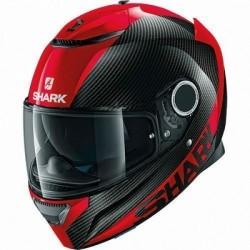 Spartan Carbon Skin Red